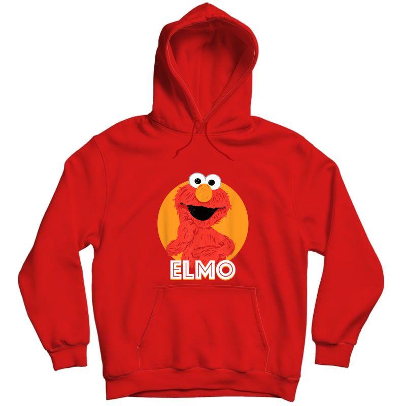 Sesame Street Elmo Scribble T-shirt Unisex Pullover Hoodie