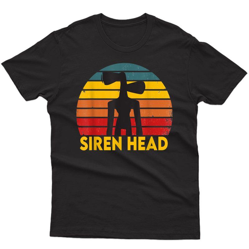 Siren Head Halloween Meme Sirenhead T-shirt