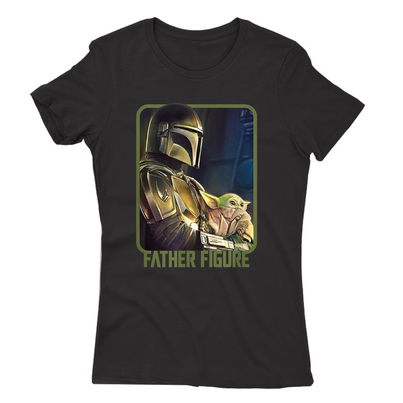 Star Wars The Mandalorian And The Child Father Figure T-shirt