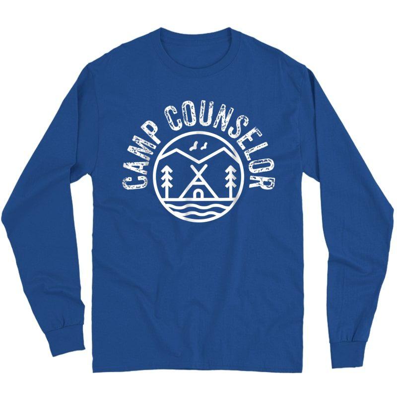 Summer Camp Counselor Staff T-shirt  Long Sleeve T-shirt