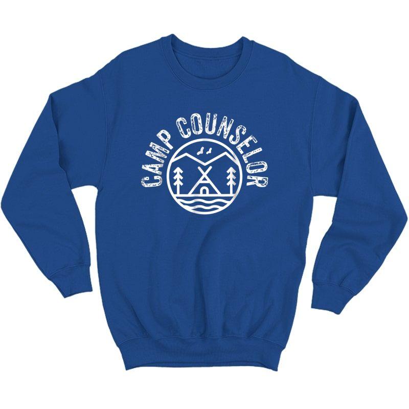 Summer Camp Counselor Staff T-shirt  Crewneck Sweater