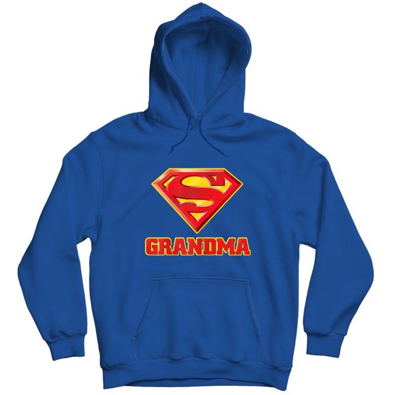 Superman Super Grandma T-shirt Unisex Pullover Hoodie