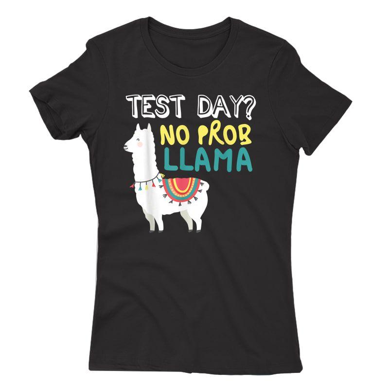 Test Day Tea Exam Testing Teaching Funny T-shirt