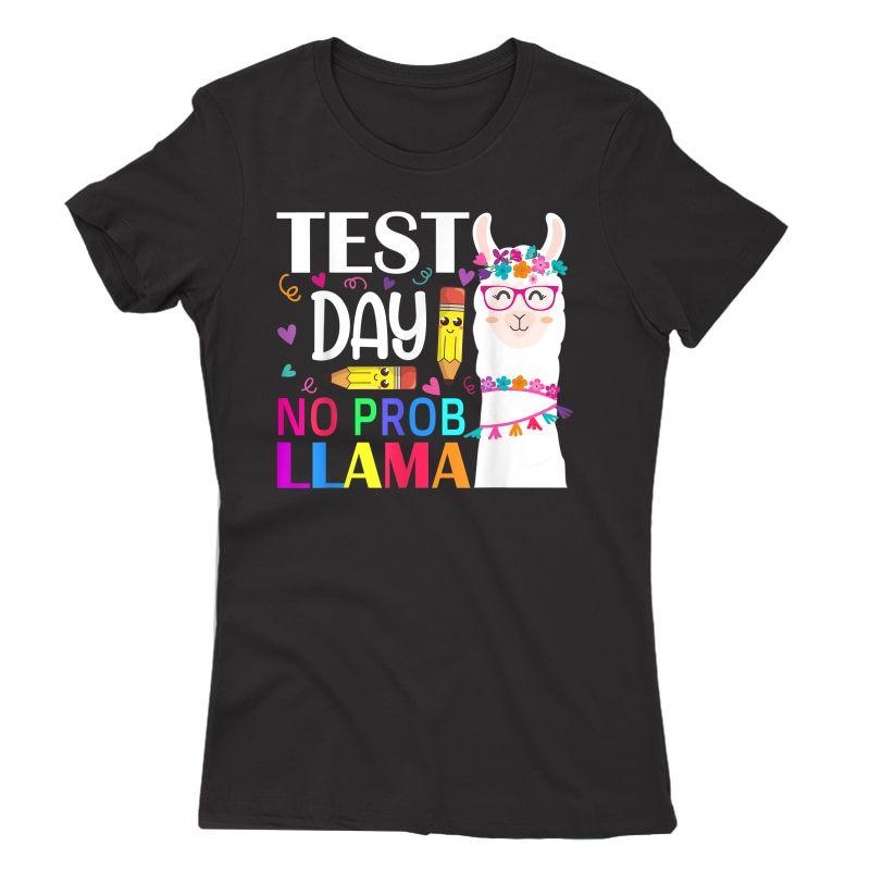 Test Day No Prob- Tea Testing Day T-shirt