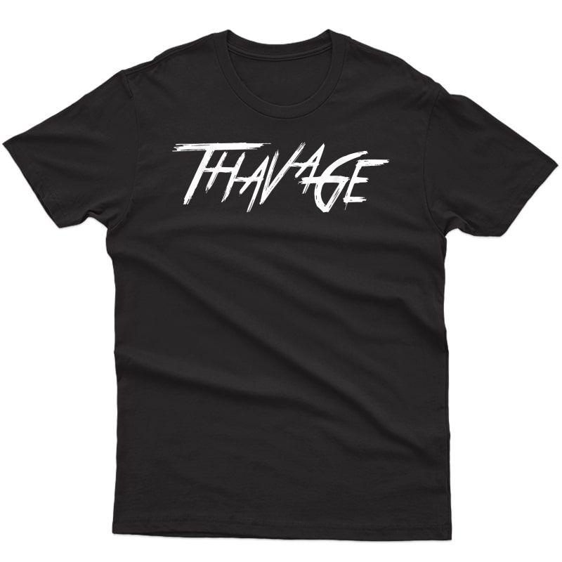 Thavage Classic Bodybuilding Chris Lisp Cbum Gym Funny T-shirt