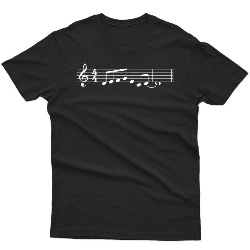 The Lick Jazz Font Shirt Music Lover Gifts T-shirt