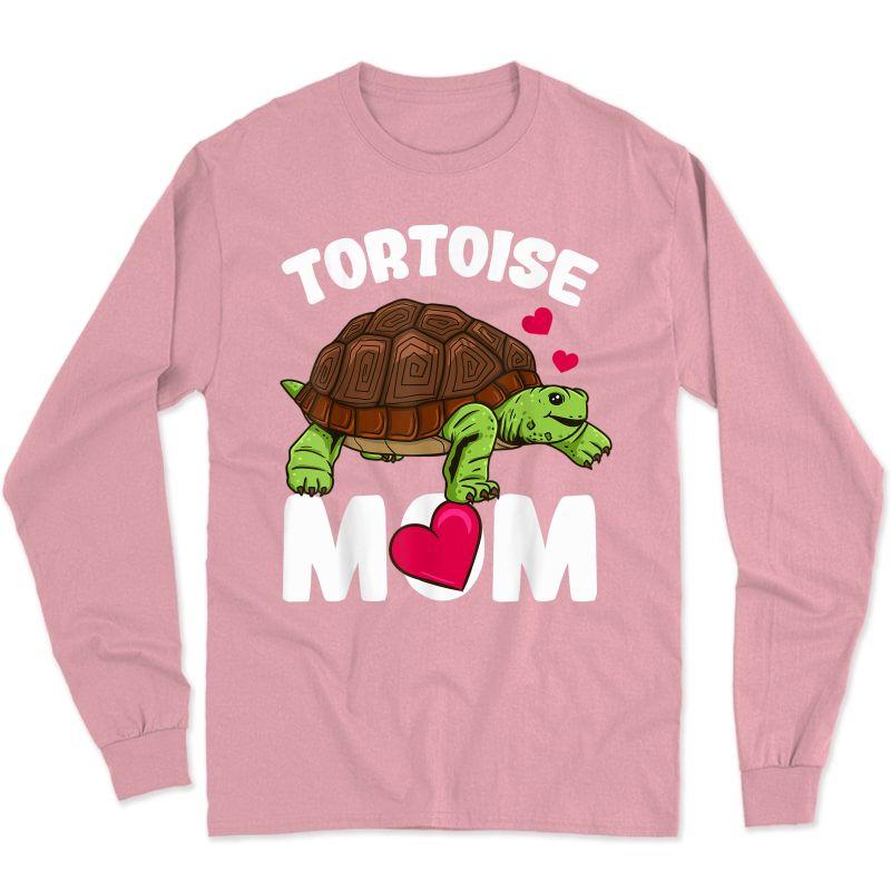 Tortoise Mom T-shirt Long Sleeve T-shirt