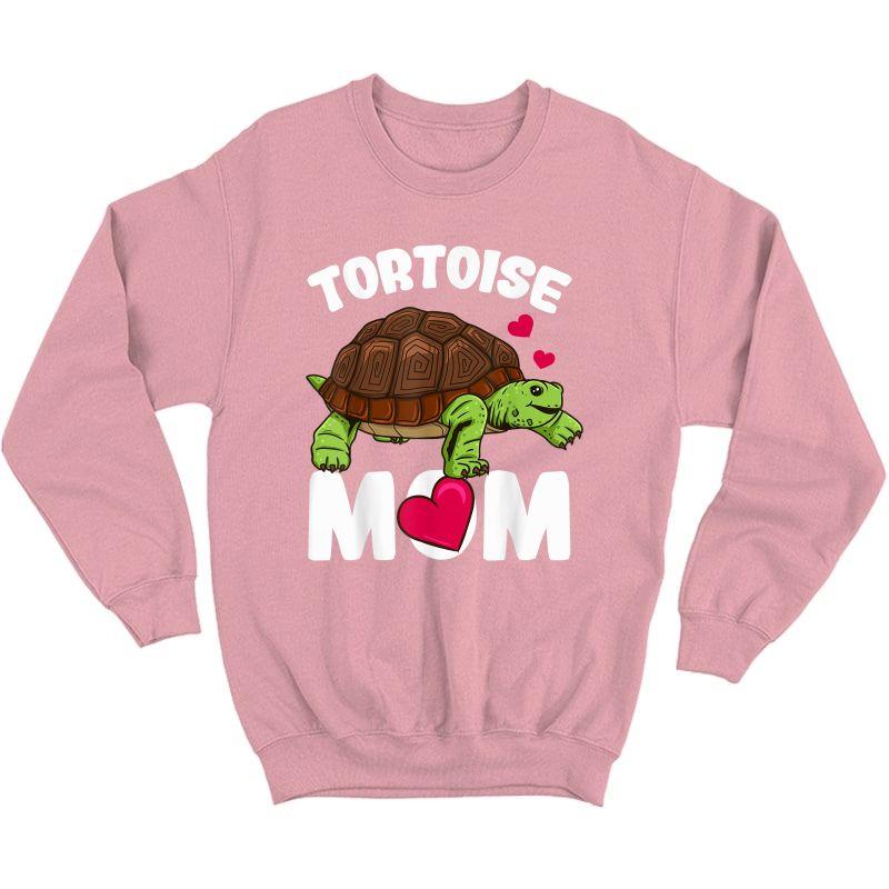 Tortoise Mom T-shirt Crewneck Sweater