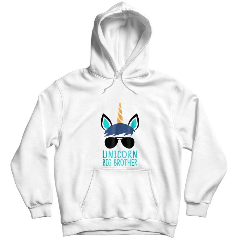 Unicorn Big Brother T-shirt Boy Unisex Pullover Hoodie