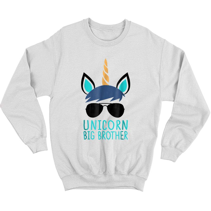 Unicorn Big Brother T-shirt Boy Crewneck Sweater