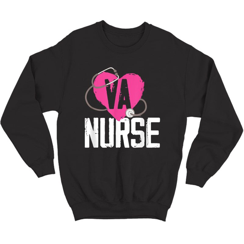 Va Nurse Veterans Affairs Nurse T-shirt Crewneck Sweater