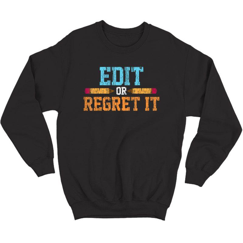 Vintage English Tutor Tea Gift T-shirt Crewneck Sweater