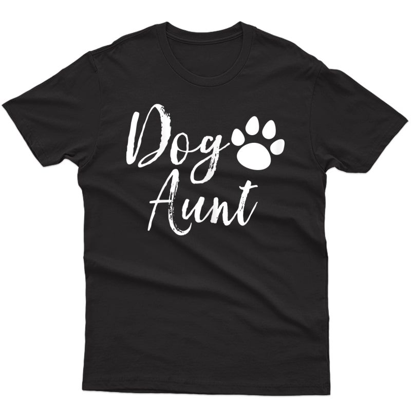 Dog Aunt Funny Auntie Shirts