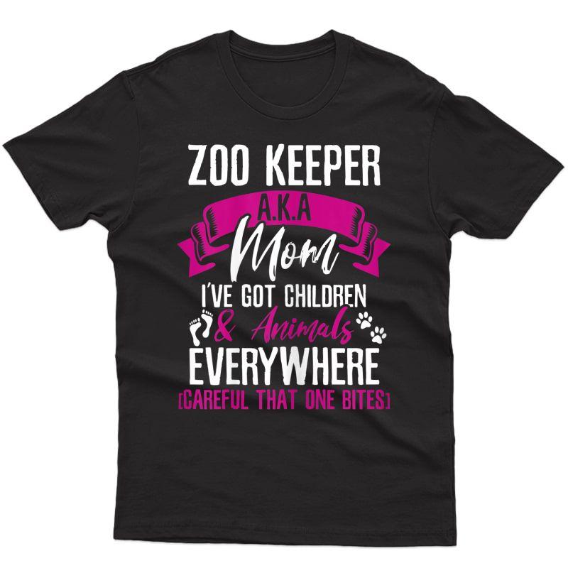 I'm A Zoo Keeper Aka Mom T-shirt