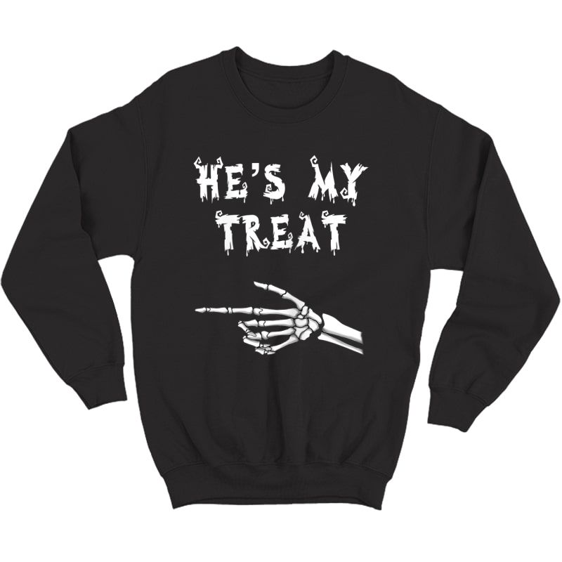 Matching Couples Halloween Shirts. His And Hers Funny Shirt Crewneck Sweater
