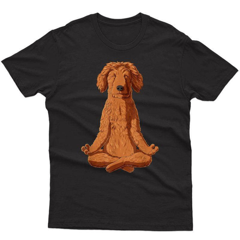Yoga Dog Goldendoodle T-shirt