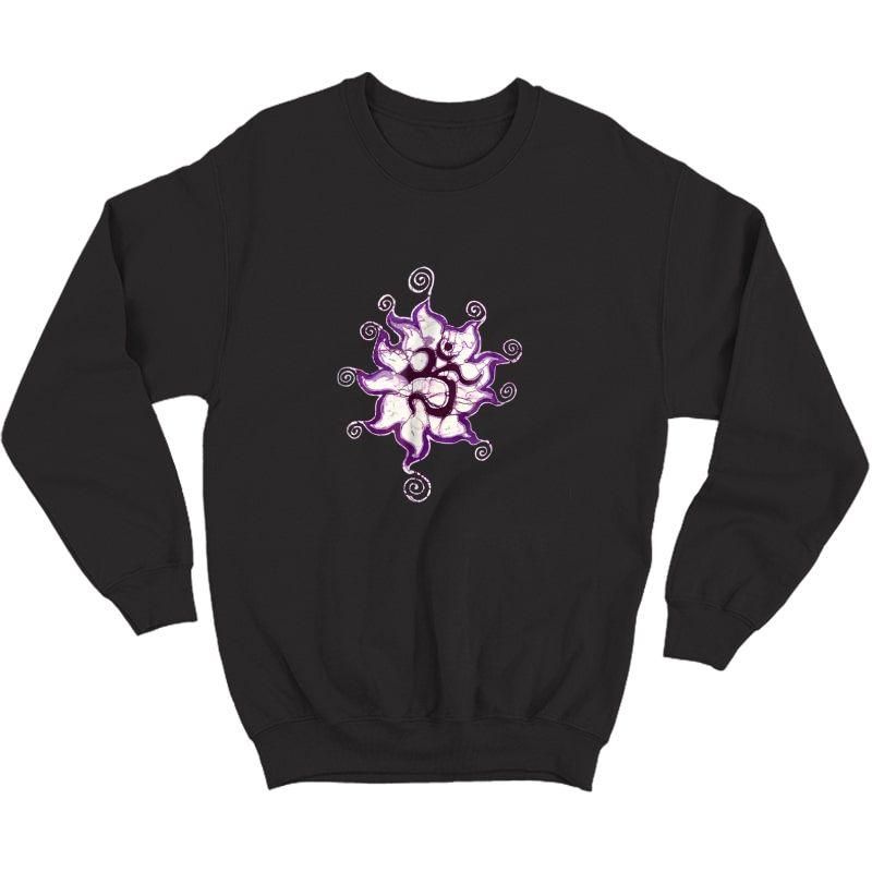 Yoga Om Batik Artist Meditation T-shirt Crewneck Sweater